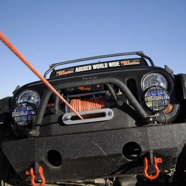 MILE MARKER® - Winch on Jeep Wrangler