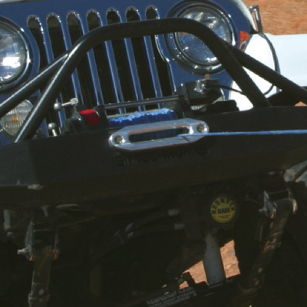 Jeep Wrangler with MILE MARKER Winch