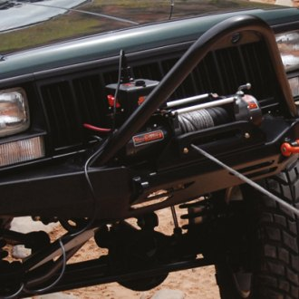 Jeep Cherokee Equiped with Scout Winch by MILE MARKER®