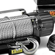 Mile Marker® - Electric Winch 15000 lbs with Discrete Solenoid