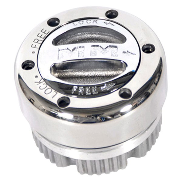 Mile Marker® - Stainleess Steel Manual Locking Hubs