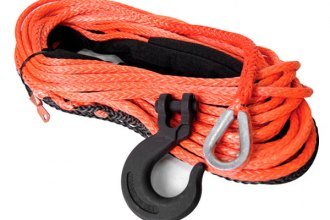 "Mile Marker® 19-52316-50 - 3/16"" x 50' Orange Synthetic Rope"