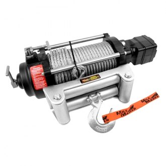 Mile Marker® - Hydraulic Winch 9000 lbs 12V with Discrete Solenoid