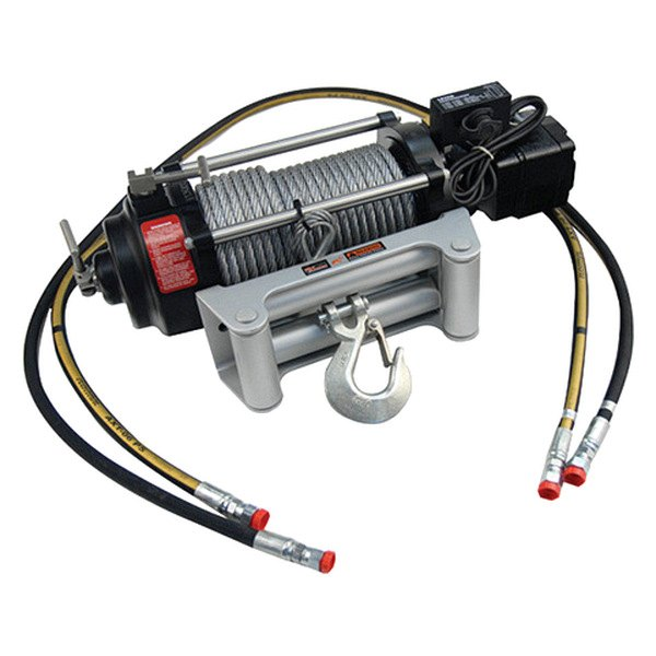 Mile Marker® - Low Pressure Hydraulic Winch 9000 lbs 12V with Integrated Solenoid