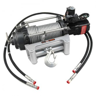 MILE MARKER® - Hydraulic Winch 12,000 lb. 12V with Integrated Solenoid