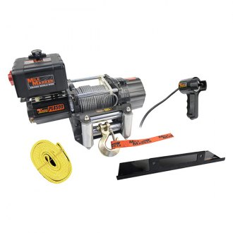 Mile Marker® - 4500 lbs Waterproof Electric Winch