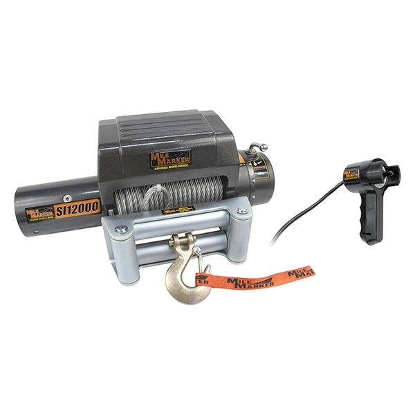 Mile Marker® - Electric Winch 12000 lbs 12V with Integrated Solenoid