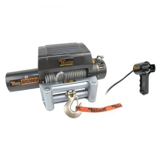 MILE MARKER® - Electric Winch 12,000 lb. 12V with integrated Solenoid