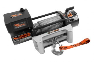 Mile Marker® - Waterproof Electric Winch 9500 lbs 12V with Discrete Solenoid