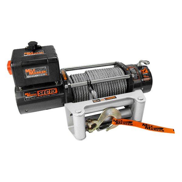 Mile Marker® - Waterproof Electric Winch 15000 lbs