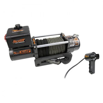 Mile Marker® - 8000 lbs Waterproof Electric Winch