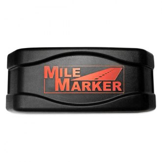 Mile Marker® - Roller Fairlead Cover with Mile Marker Logo
