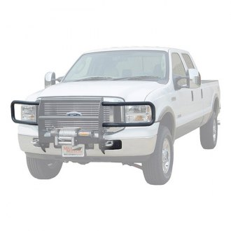 Image may not reflect your exact vehicle! MILE MARKER� - Black Brush Guard