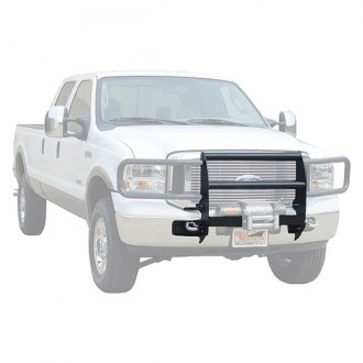 Image may not reflect your exact vehicle! MILE MARKER® - Black Powdercoat Winch Mounting System