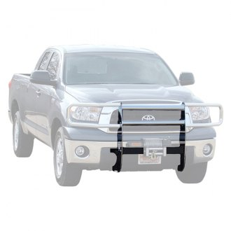 Image may not reflect your exact vehicle! MILE MARKER® - Chrome Winch Mounting System