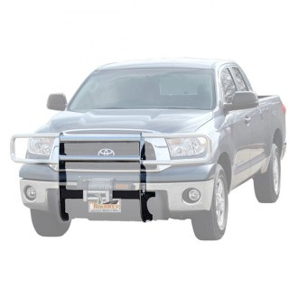 Image may not reflect your exact vehicle! MILE MARKER� - Extreme II Chrome Winch Mounting System