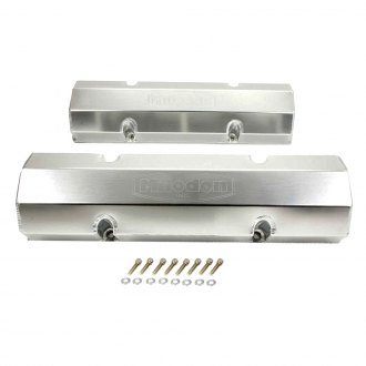 Milodon® - Fabricated Aluminum Valve Covers