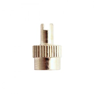 Milton® - Nickel Plated Brass Screwdriver Type Valve Cap 5 Card