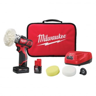 Milwaukee® - M12 Variable Speed Polisher/Sander with 5 Piece Accessory Kit