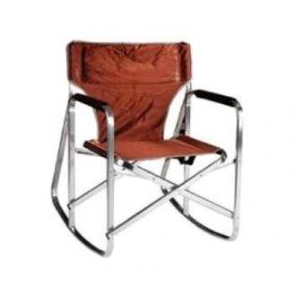 Mings Mark® - Rocking Director's Brown Chair
