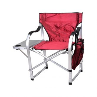 Mings Mark® - King Director's Chair With Side Table Heavy Duty 500 lb.