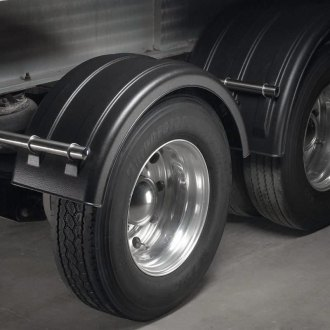 Minimizer® - Rear Single Poly Fender Set