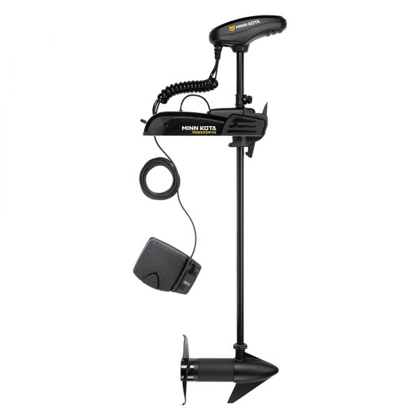 "Minn Kota® - New PowerDrive 12V 55 lb Thrust 54"" Shaft Freshwater Trolling Motor with Universal Sonar 2"