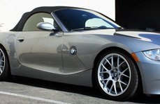 MIRO® - TYPE 112 Silver on BMW Z4