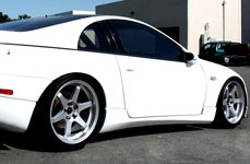 MIRO® - TYPE 398 Silver on Nissan 300ZX