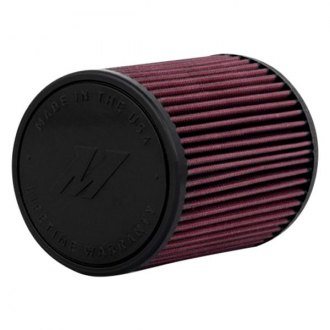 Mishimoto® - Performance Cotton Round Tapered Red Air Filter