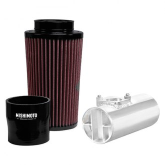 Mishimoto® - Performance Silver Polished Aluminum Cold-Air Intake