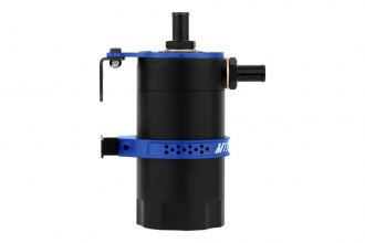 Mishimoto® MMBCC-UNI-BL - Blue Baffled Oil Catch Can