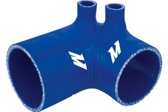 Mishimoto® MMHOSE-E36-92IBBL - Blue Silicone Air Intake Boot