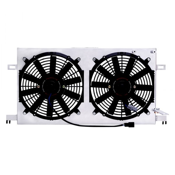 Mishimoto® - Performance Black Aluminum Electric Fan with Shroud