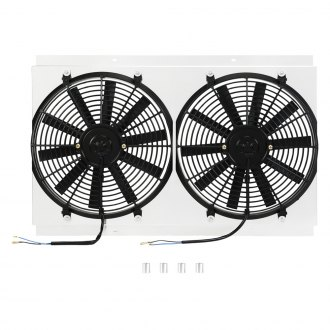 Mishimoto® - Performance Electric Fan with Aluminum Shroud