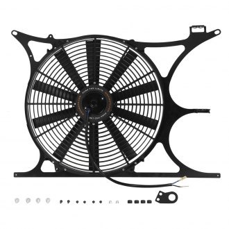 "Mishimoto® - 16"" Performance Steel Slim Electric Fan with Shroud"
