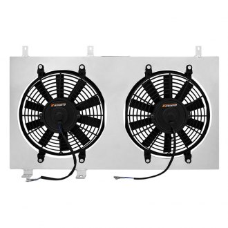 Mishimoto® - Performance Electric Fan with Aluminum Shroud Kit