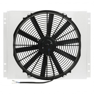Mishimoto® - Performance Electric Fan with Aluminum Shroud and Probe
