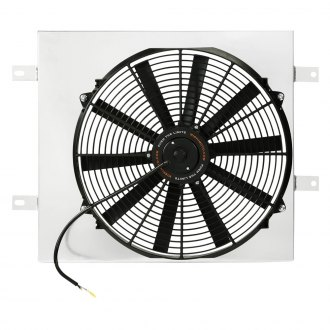 Mishimoto® - Performance Electric Fan with Shroud and NPT