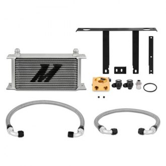 Mishimoto® - Powdercoated Oil Cooler Kit