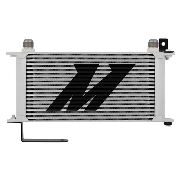 Mishimoto® - Silver Aluminum Oil Cooler Kit with Thermostatic
