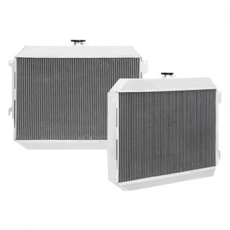 "Mishimoto® - X-Line Performance Silver Polished Aluminum Radiator with 26"" Core"