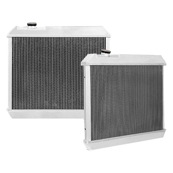 Mishimoto® - Silver Polished Aluminum X-Line Performance Radiator