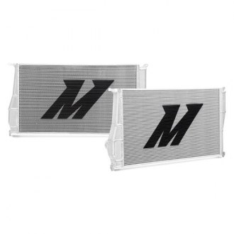 Mishimoto® - Performance Brushed Aluminum Radiator