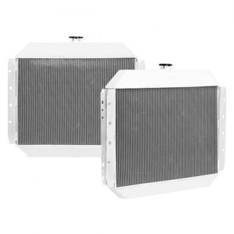 Mishimoto® - X-Line Performance Silver Polished Aluminum Radiator