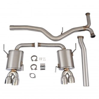 Mishimoto® - Brushed Stainless Steel Cat-Back Exhaust System