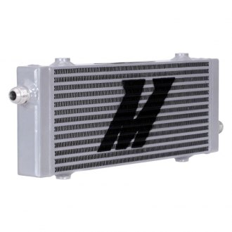 Mishimoto® - Medium Cross Flow Bar & Plate Oil Cooler