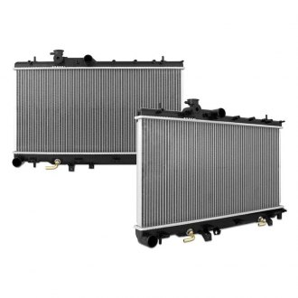 Mishimoto® - Replacement Plastic/Aluminum Radiator