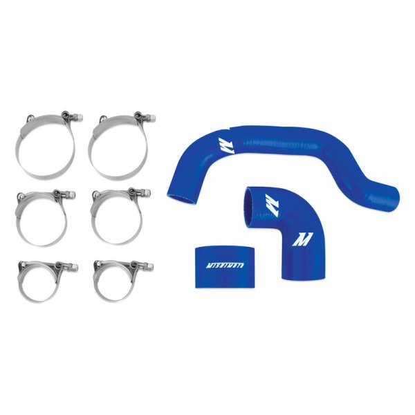 Mishimoto® - Blue Silicone Intercooler Hose Kit
