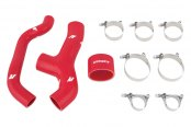 Mishimoto® - Red Silicone Intercooler Hose Kit